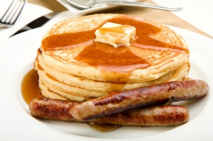 Pancakes-and-Sausage-iStockphoto