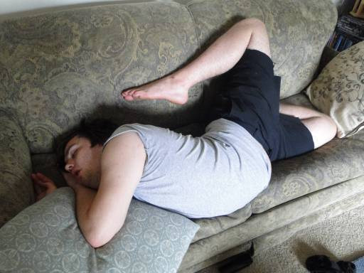limber-21-year-old-falls-to-sleep-after-long-first-day-on-the-job