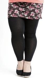 Popular-Plus-size-legging-pants-fat-woman-large-polka-dot-print-casual-pantskirt-Fat-Tops