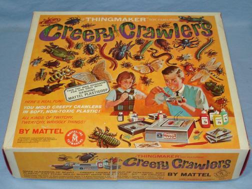 creepy crawler vintage