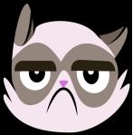 grumpy_cat_cutie_mark__canon__by_lahirien-d71u11w