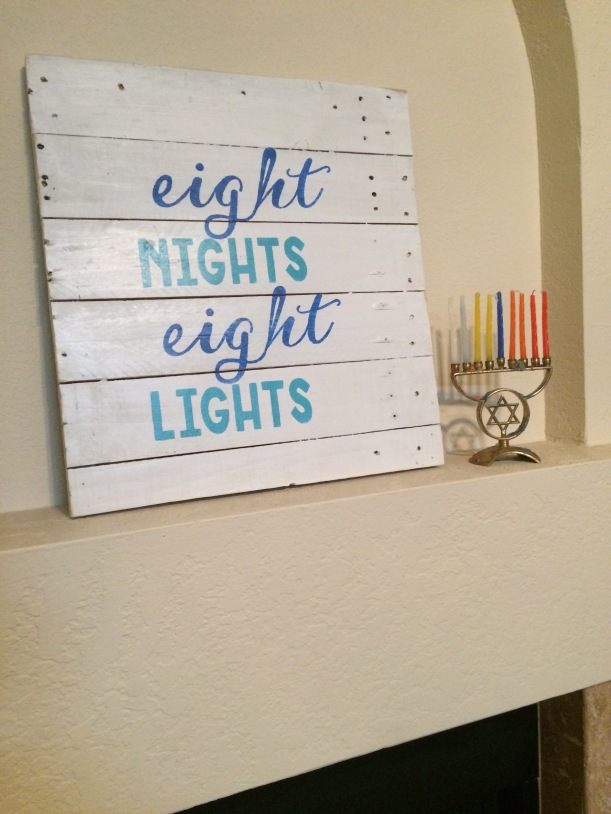 This one was custom made for me for Chanukah.